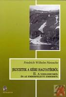 JEGYZETEK A KÉSEI HAGYATÉKBÓL II.