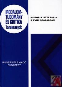 Historia Litteraria a XVIII. században