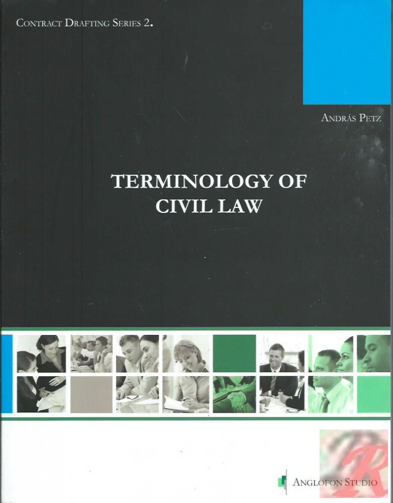 TERMINOLOGY OF CIVIL LAW