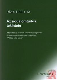 AZ IRODALOMTUDÓS TEKINTETE