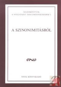 A SZINONIMITÁSRÓL