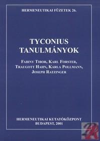 TYCONIUS-TANULMÁNYOK