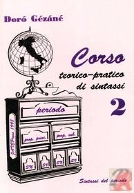 CORSO TEORICO-PRATICO DI SINTASSI II.