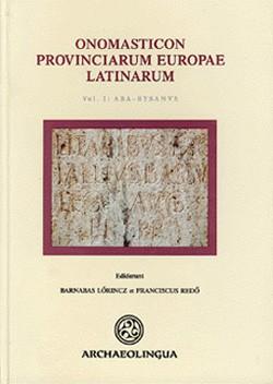 ONOMASTICON PROVINCIARUM EUROPAE LATINARUM