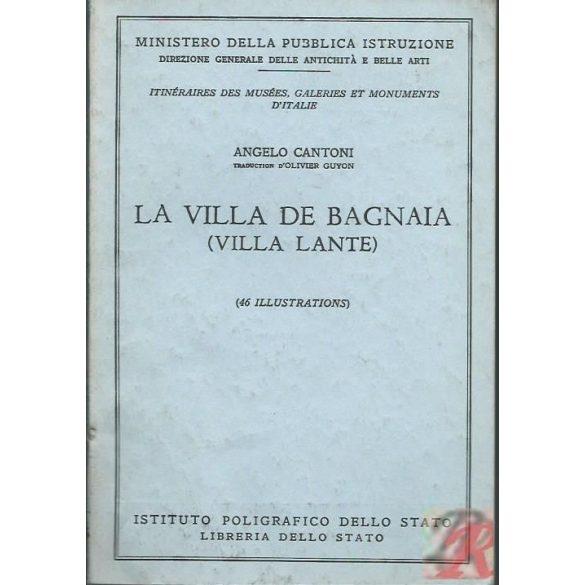 LA VILLA DE BAGNAIA