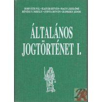 ÁLTALÁNOS JOGTÖRTÉNET I.