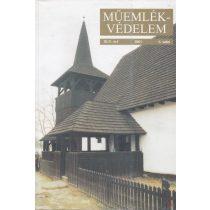 MŰEMLÉKVÉDELEM - XLV. évf., 2001/6.