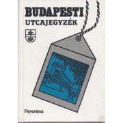 BUDAPESTI UTCAJEGYZÉK 1989