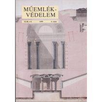 MŰEMLÉKVÉDELEM - XLIII. évf., 1999/6.