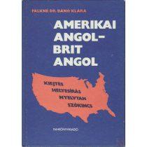 AMERIKAI ANGOL-BRIT ANGOL