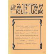 AETAS 1993/1. szám