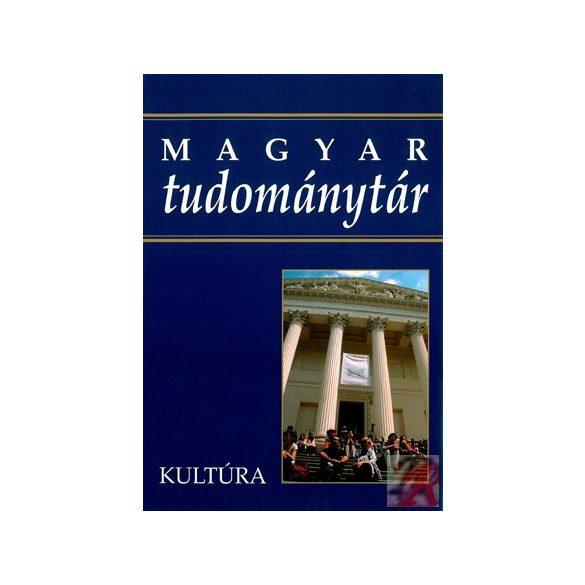 MAGYAR TUDOMÁNYTÁR 6. kötet