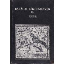 BALÁCAI KÖZLEMÉNYEK II. 1992