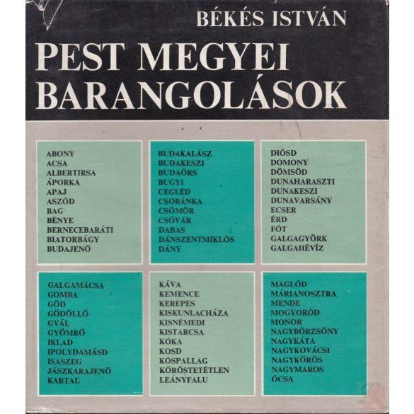 PEST MEGYEI BARANGOLÁSOK