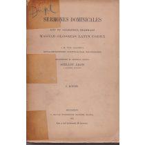 SERMONES DOMINICALES I. kötet (töredék)
