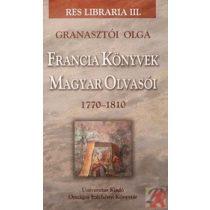 FRANCIA KÖNYVEK MAGYAR OLVASÓI