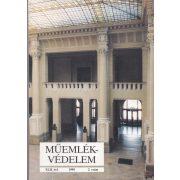 MŰEMLÉKVÉDELEM - XLII. évf., 1998/2.
