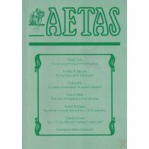 AETAS 1999/4. szám