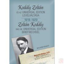 KODÁLY ZOLTÁN ÉS AZ UNIVERSAL EDITION LEVÉLVÁLTÁSA I. 1918-1929