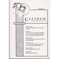 CASTRUM. A CASTRUM BENE EGYESÜLET HÍRLEVELE 3. szám