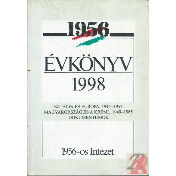 AZ 1956-OS INTÉZET ÉVKÖNYVE 1998