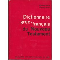 DICTIONAIRE GREC-FRANCAIS DU NOUVEAU TESTAMENT