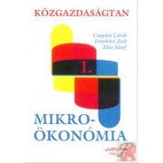 KÖZGAZDASÁGTAN I. MIKROÖKONÓMIA