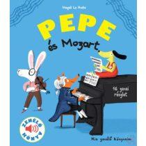 PEPE ÉS MOZART - Zenélő könyv - elfogyott