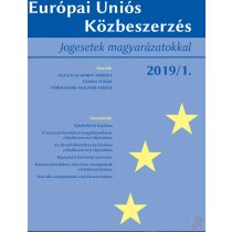 EURÓPAI UNIÓS KÖZBESZERZÉS 2019/1