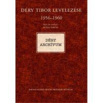 DÉRY TIBOR LEVELEZÉSE II/C. 1956–1960