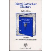 OSBORN'S CONCISE LAW DICTIONARY