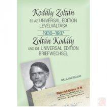 KODÁLY ZOLTÁN ÉS AZ UNIVERSAL EDITION LEVÉLVÁLTÁSA II. 1930-1937