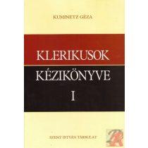 KLERIKUSOK KÉZIKÖNYVE I-II.