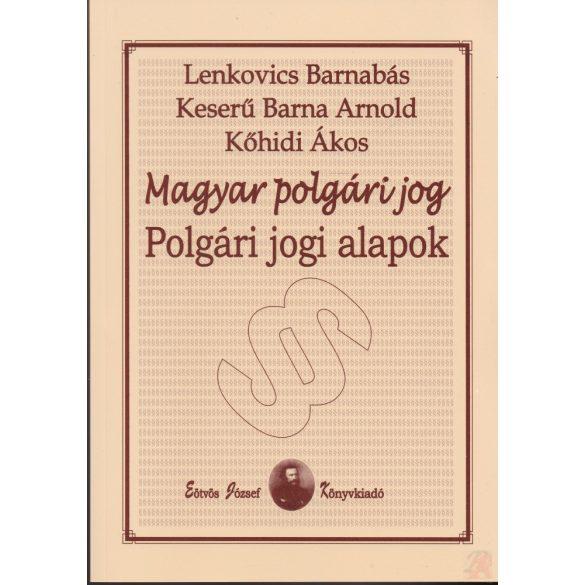 POLGÁRI JOGI ALAPOK