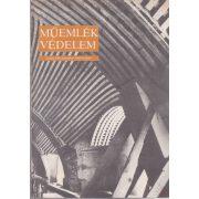 MŰEMLÉKVÉDELEM - XXVIII. évf., 1984/4.
