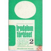 IRODALOMTÖRTÉNET 1984/2