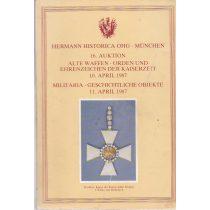 16. AUKTION - ALTE WAFFEN, ORDEN UND EHRENZEICHEN - MILITARIA GESCHICHLICHE OBJEKTE