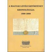 A MAGYAR LEVÉLTÁRTÖRTÉNET KRONOLÓGIÁJA 1000-2000