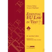 ESSENTIAL EU LAW IN TEXT (2020)