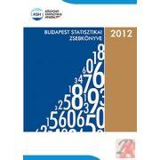BUDAPEST STATISZTIKAI ZSEBKÖNYVE, 2012