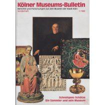 KÖLLNER MUSEUMS-BULLETIN 1993/1