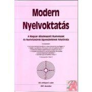 MODERN NYELVOKTATÁS 2007. 4. SZÁM