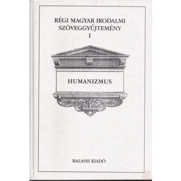 RÉGI MAGYAR IRODALMI SZÖVEGGYŰJTEMÉNY I. kötet