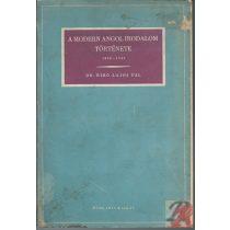 A MODERN ANGOL IRODALOM TÖRTÉNETE 1890-1941