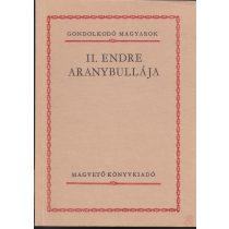 II. ENDRE ARANYBULLÁJA