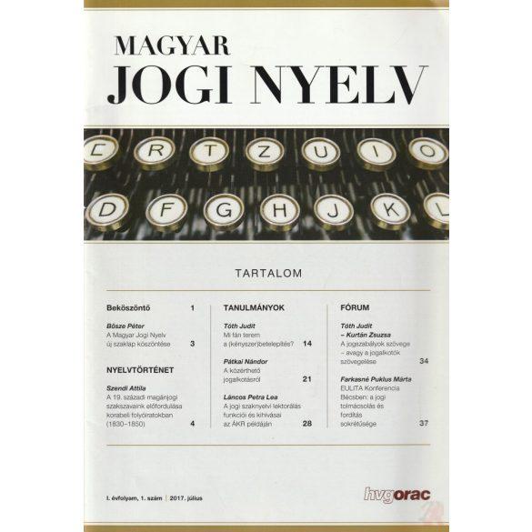 MAGYAR JOGI NYELV 2017/1