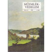 MŰEMLÉKVÉDELEM - XLII. évf., 1998/1.