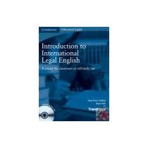 INTRODUCTION TO INTERNATIONAL LEGAL ENGLISH +AUDIO CD