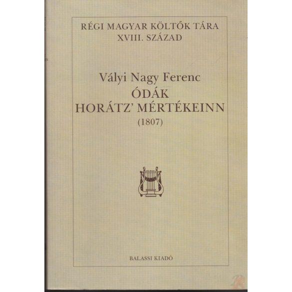 ÓDÁK HORÁTZ' MÉRTÉKEINN (1807)
