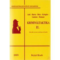 KRIMINÁLTAKTIKA II. kötet